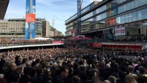 Meer dan 20.000 Zweden de straat op voor 'manifestatie voor de vrede'