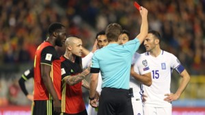 Ref die in België-Griekenland twee keer rood trok gaat Anderlecht-Manchester United leiden