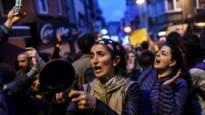 Opnieuw duizenden mensen op straat tegen resultaat Turks referendum