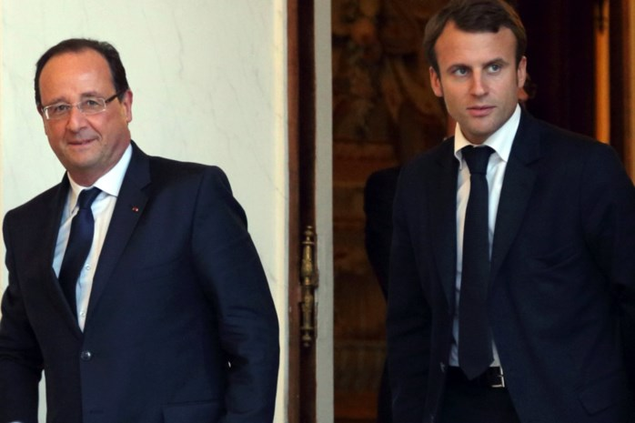 Hollande stemt voor Macron op 7 mei