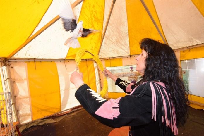"""Circusweduwe van Bill Kartoum moet tent verkopen: """"Het circus helpt me rouwen"""""""