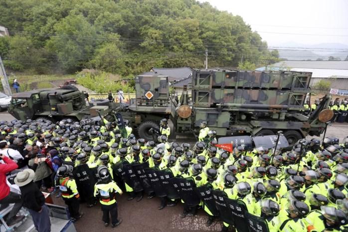 Amerika installeert raketafweersysteem in Zuid-Korea