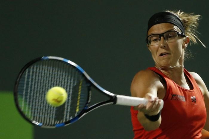 Kirsten Flipkens naar kwartfinales dubbelspel in Istanboel