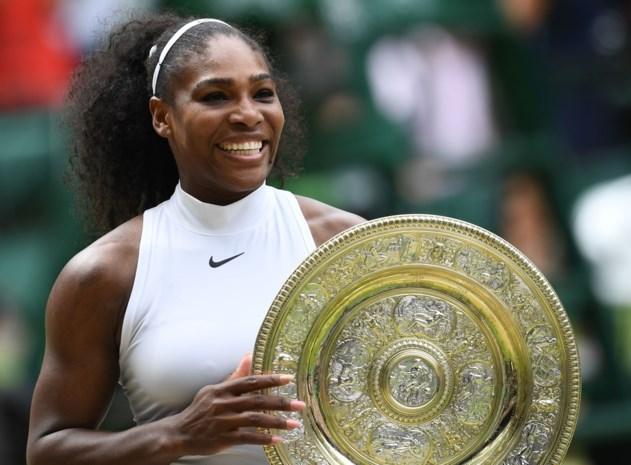 Serena Williams schept duidelijkheid over comeback na de bevalling