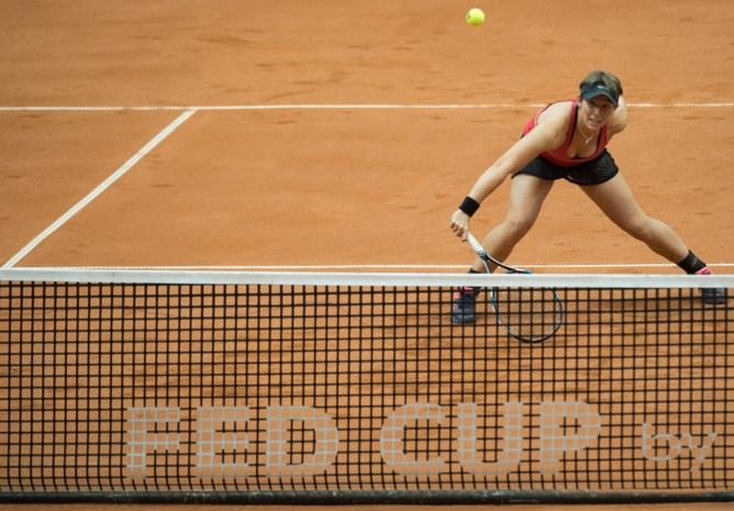 An-Sophie Mestach en Russische halen kwartfinale dubbelspel in Tunis