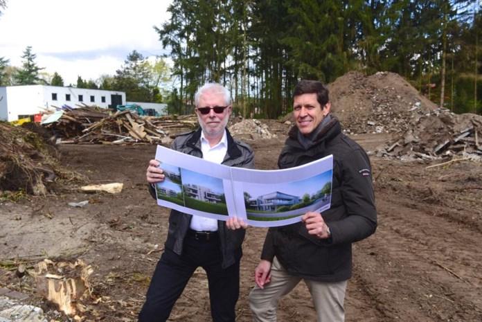 Site van voormalige autocinema wordt mooi woonpark met 27 appartementen