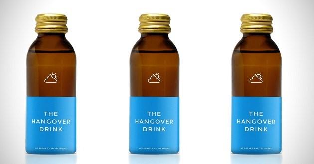 Dit nieuwe drankje helpt je van je kater af
