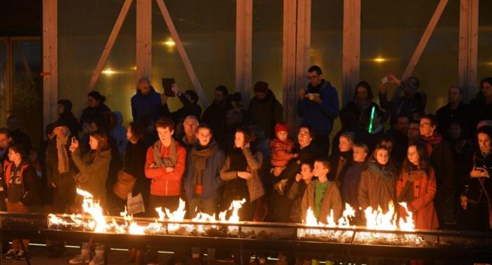 Wintervuur strijkt neer in Spoor Oost