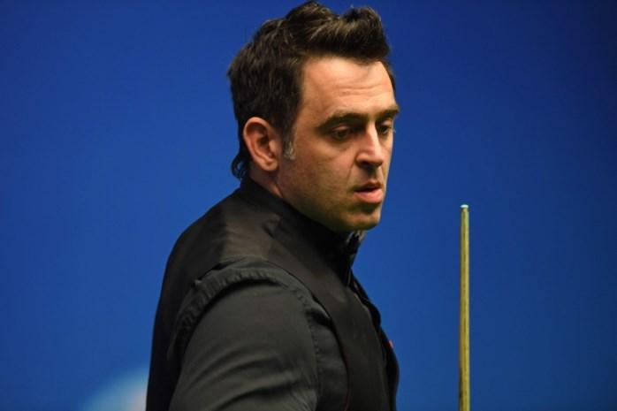 O'Sullivan met de rug tegen de muur tegen Ding op WK snooker