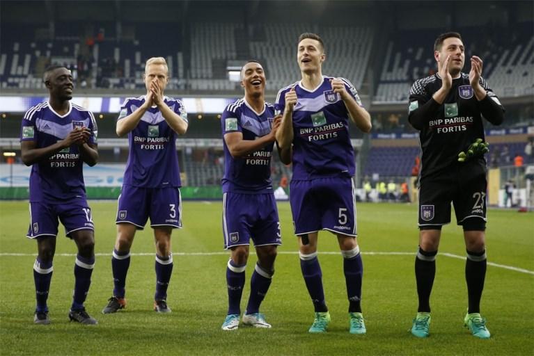 Anderlecht met moeite voorbij Zulte Waregem