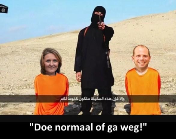 """Theo Francken eist ontslag na """"walgelijke"""" foto bij opiniestuk van Kif Kif"""