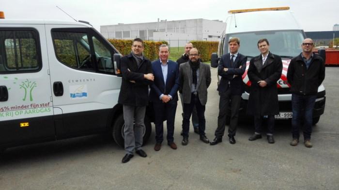 Eigen CNG-wagenpark delen met de burger: twee wagens en bestelwagen