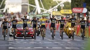 Tour de France start in 2019 in Brussel