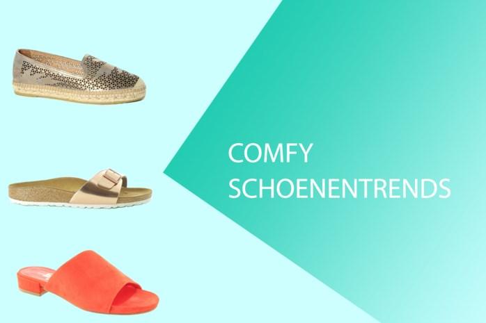 3 comfy schoenentrends voor deze zomer