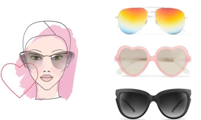 Rond of recht: welke zonnebril past het best bij de vorm van je gezicht?