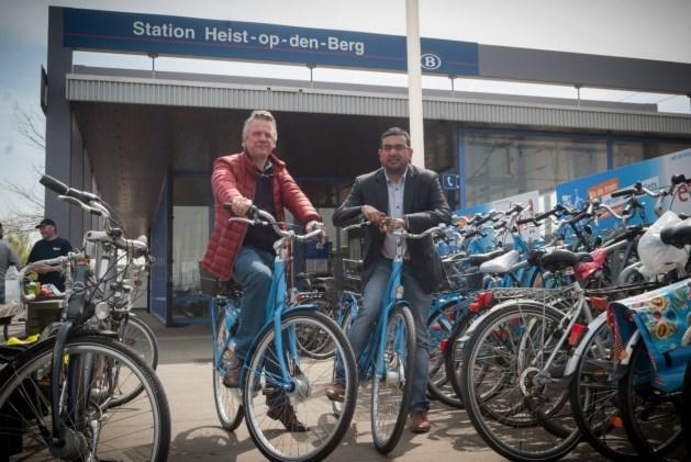 Blue-bikes schakelen versnelling hoger