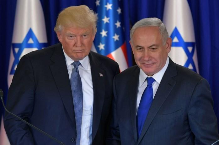 Trump vermijdt hinderpaal in weg naar vrede in het Midden-Oosten