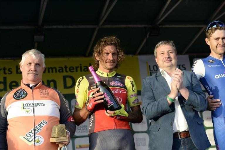 Filippo Pozzato wint dernycriterium Deurne, voor Van Aert en De Plus