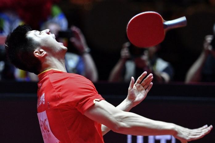 Chinees Ma Long verlengt wereldtitel tafeltennis