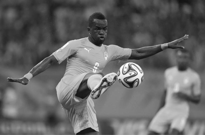 Voormalig Anderlecht-speler Tioté (30) overleden op training in China