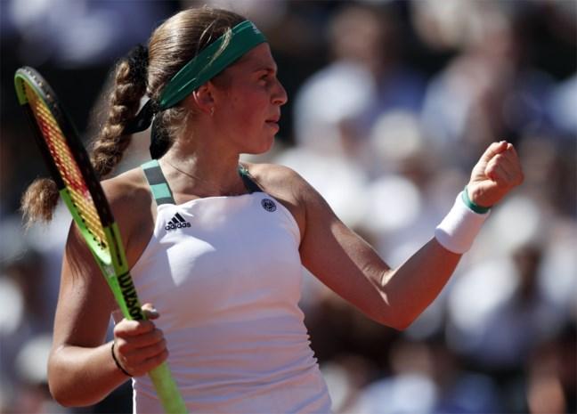 Sensatie: 20-jarige Jelena Ostapenko vecht uit verloren positie terug en wint Roland Garros