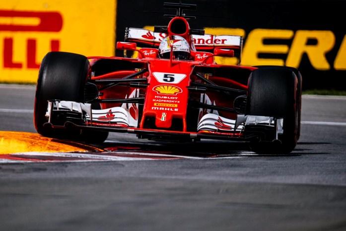 Ferrari bovenaan tijdens laatste oefensessie in Canada, Vandoorne zestiende
