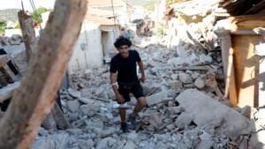 Aardbeving veroorzaakt puinhoop op Griekse eiland Lesbos