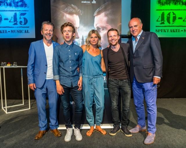 Studio 100 strikt Vlaamse topcast voor spektakel-musical '40-45'