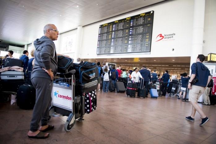 Tijdlang bomalarm op luchthaven Zaventem na vondst van verdachte geschriften op toilet