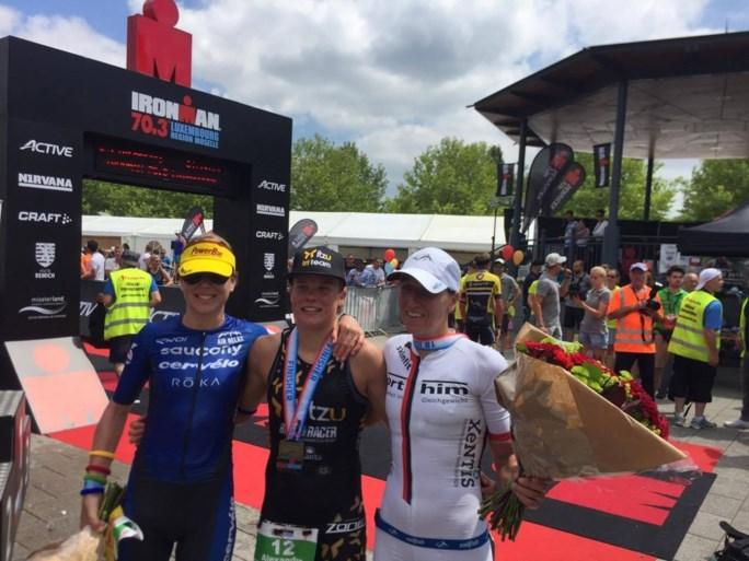 Belgen Vandendriessche en Tondeur winnen Ironman 70.3 in Luxemburg
