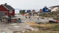 Groenland getroffen door tsunami