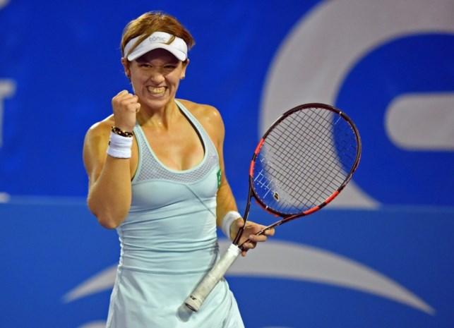An-Sophie Mestach wint het dubbelspel op ITF Manchester