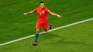 Duitsland en Chili delen de punten op Confederations Cup