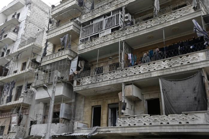 Syriërs keren terug naar Oost-Aleppo