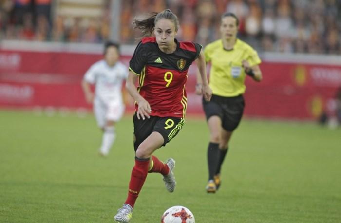 Deze Red Flames verdedigen de Belgische kleuren op het EK voetbal