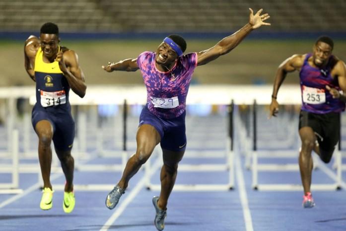 Olympisch kampioen Omar McLeod loopt toptijd op 110 meter horden