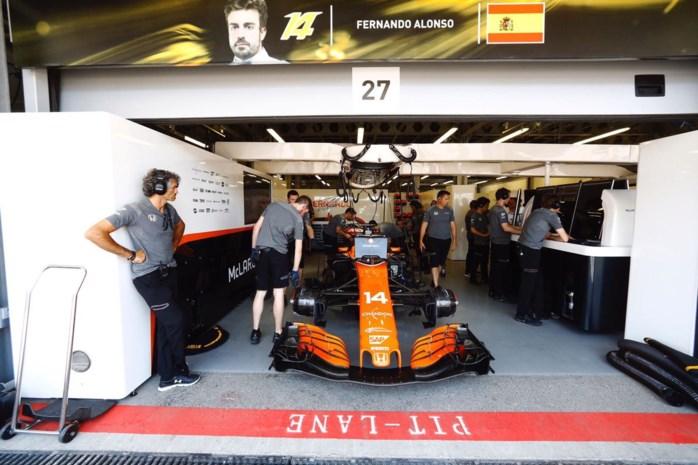 Gridpenalty's van Alonso en Vandoorne lopen op tot 75 plaatsen