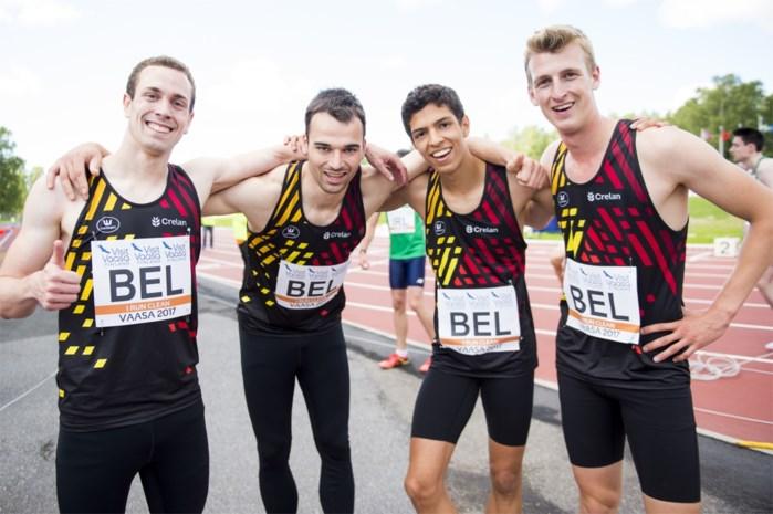 België ontloopt nipt de degradatie op EK atletiek voor landenteams
