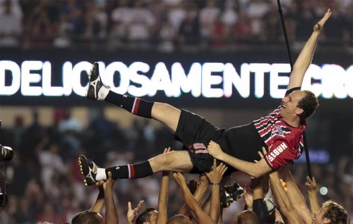 Recorddoelman Rogerio Ceni niet langer trainer van FC Sao Paulo