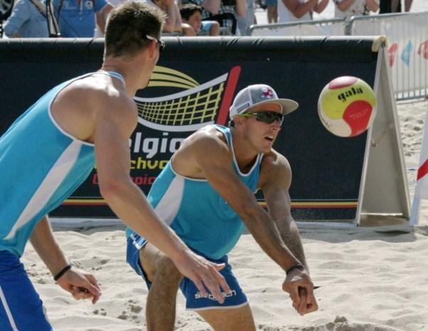 Koekelkoren en Van Walle bereiken finale in Baden Masters beachvolley
