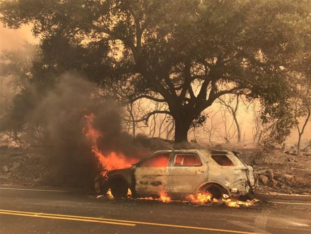 Honderden Amerikaanse gezinnen op de vlucht voor bosbranden