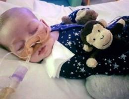 350.000 mensen eisen dat ziekenhuis doodzieke Charlie in leven laat