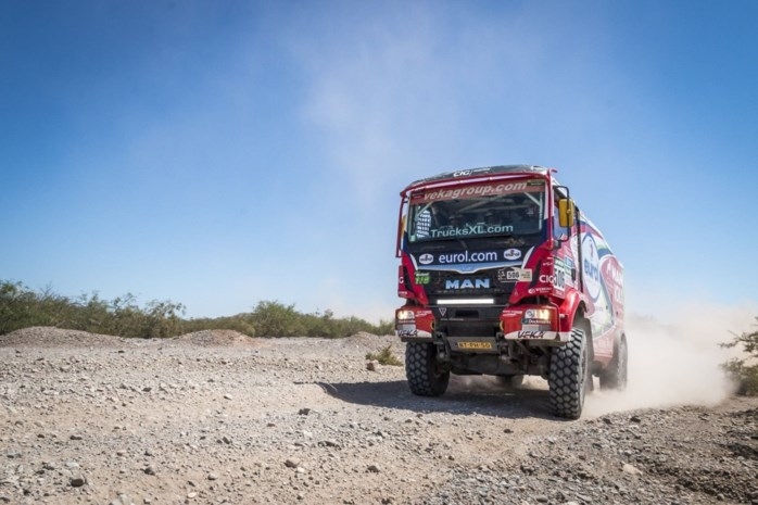 Bruynkens voorlopig op podium in Silk Way Rally