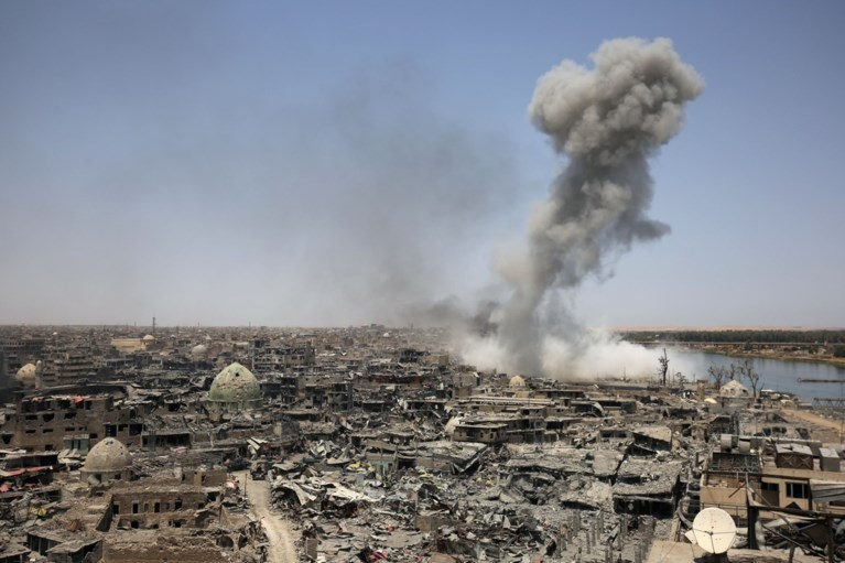 Iraakse premier claimt overwinning op IS in Mosul