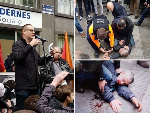Man die Raoul Hedebouw verwondde met mes blijft aangehouden