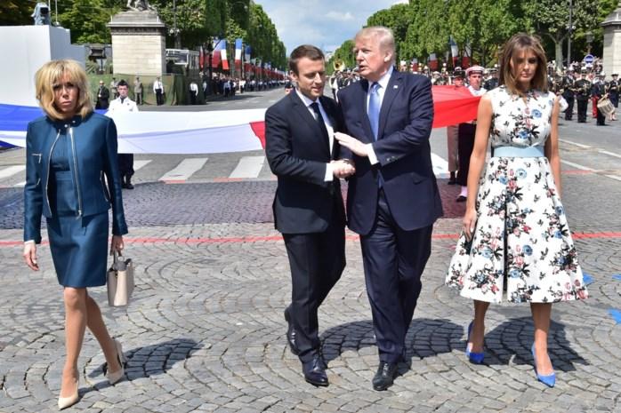 Trump wil oplossing voor klimaatakkoord Parijs na gesprek met Macron