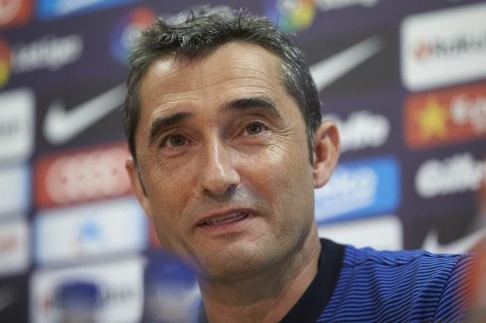 Nieuwe Barça-coach Valverde is blij dat hij niet meer tegen Messi moet spelen
