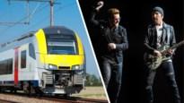 """Geen extra treinen naar Wallonië na concert U2 wegens """"onvoldoende Waalse concertgangers"""""""
