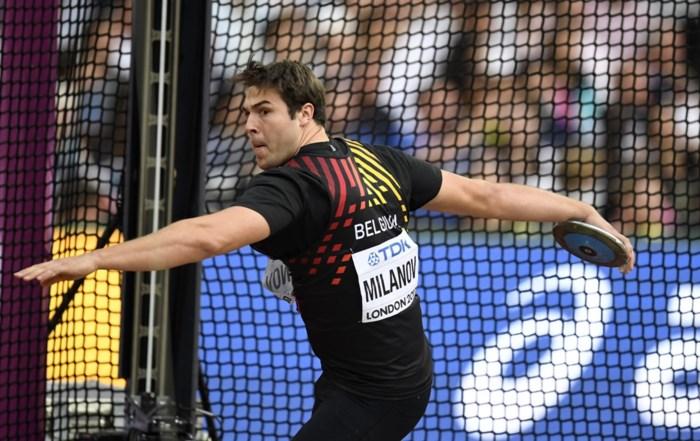 BELGEN OP WK ATLETIEK. Vice-wereldkampioen Milanov stelt teleur: geen finale discus, ook polsstokspringster Smets uitgeschakeld