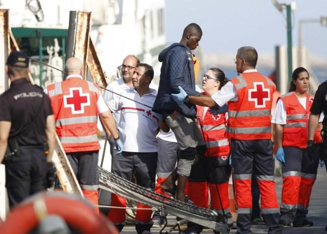 Spaanse kustwacht redt 600 migranten